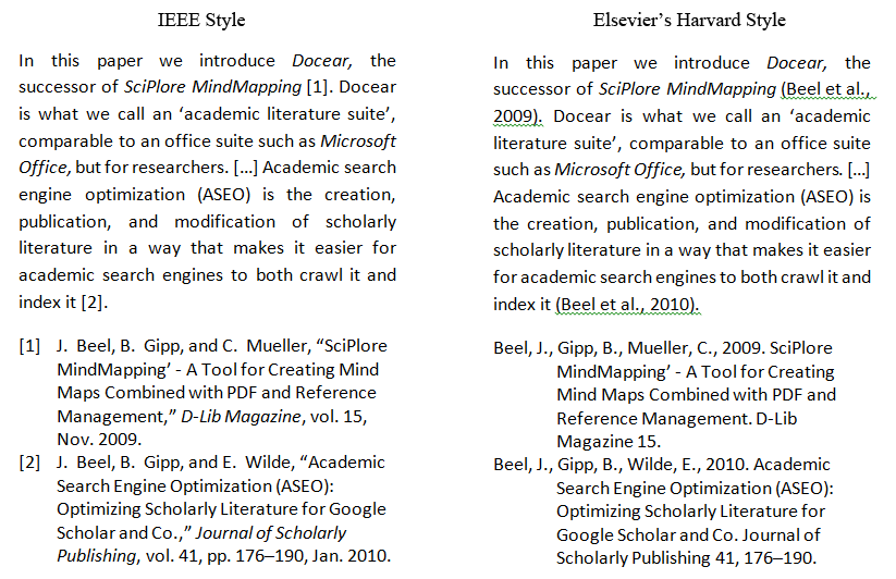 docearword managing citations bibliographies and references  ieee
