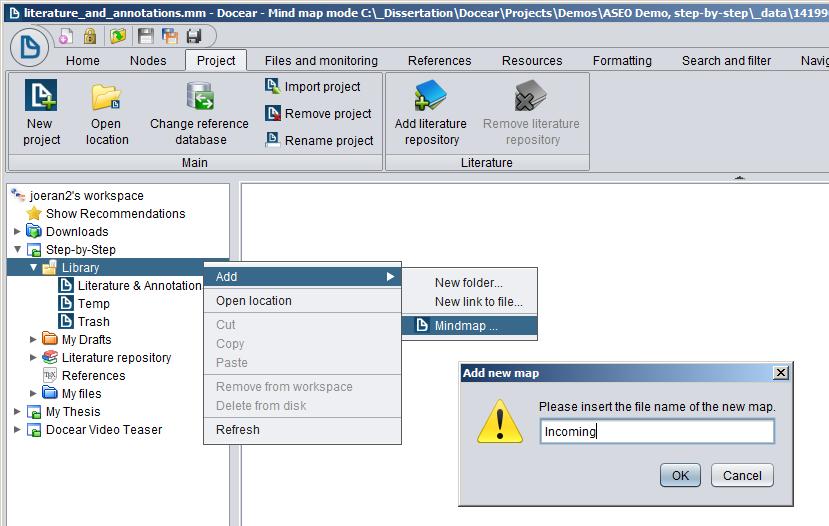 User Manual « Docear