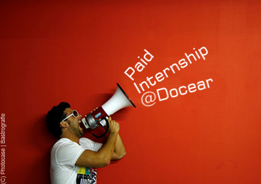 Paid internship at Docear the free reference manager