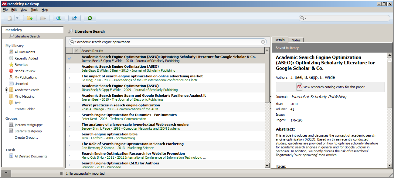 thesis writing software tools