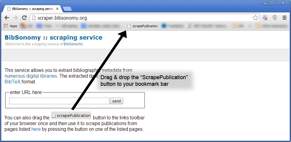 Howto: Import references from webpages (e.g. PubMed, IEEE, ACM ...